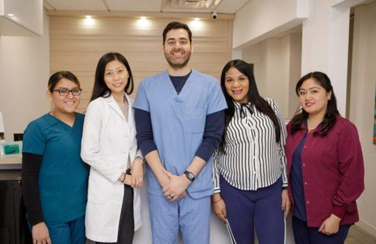 Midtown Manhattan Dental Office Team